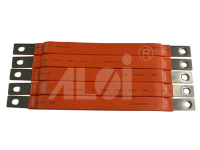 Soft connection of car battery copper platen